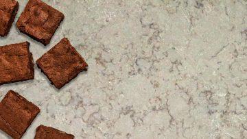 Chocolade eiwit brownie