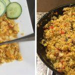 Curryrijst met kip