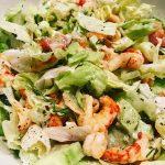 Rivierkreeft Salade met Ceasardressing
