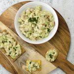 Avocado-kip salade eiwitrijke lunch