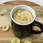 Banana mugcake eiwitrijk
