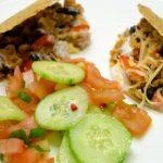 gevulde taco's met kip en een heerlijke salsa