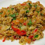 Makreel met Groenten en Zilvervliesrijst