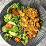 Snelle salade met kip (lekker en makkelijk)