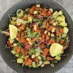 Tempé salade