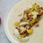 Wraps recept met warme makreel tomaat en ei